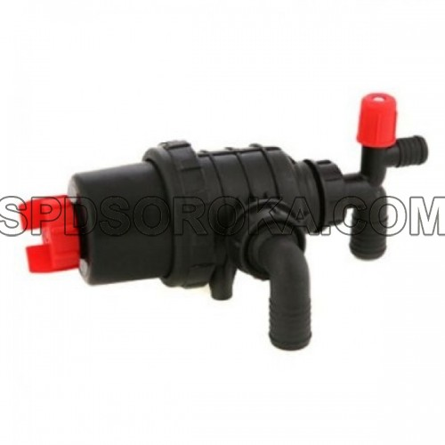 Small suction filter with shut-off valve AP16FSM