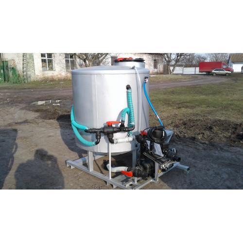 Mixer of working fluid 40-K