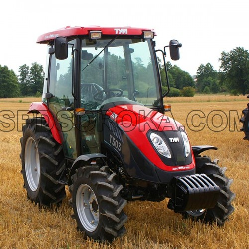 TYM T503 tractor with cab